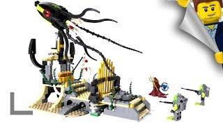 Обзор набора Lego Atlantis #8061 Ворота Кальмара (Gateway of the Squid)