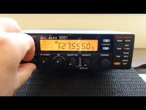 MIDLAND ALAN 9001 SSB CB RADIO QUICK REVIEW
