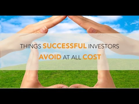 Things Successful Investors Avoid At All Cost