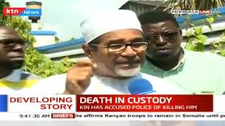 DEATH IN CUSTODY: Autopsy of Caleb Otieno underway, he died at Changamwe police station