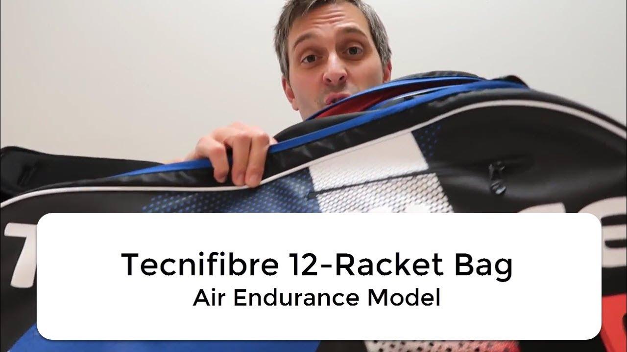 c5fbcd244a9b Tecnifibre 12 Racket Bag Air Endurance Review
