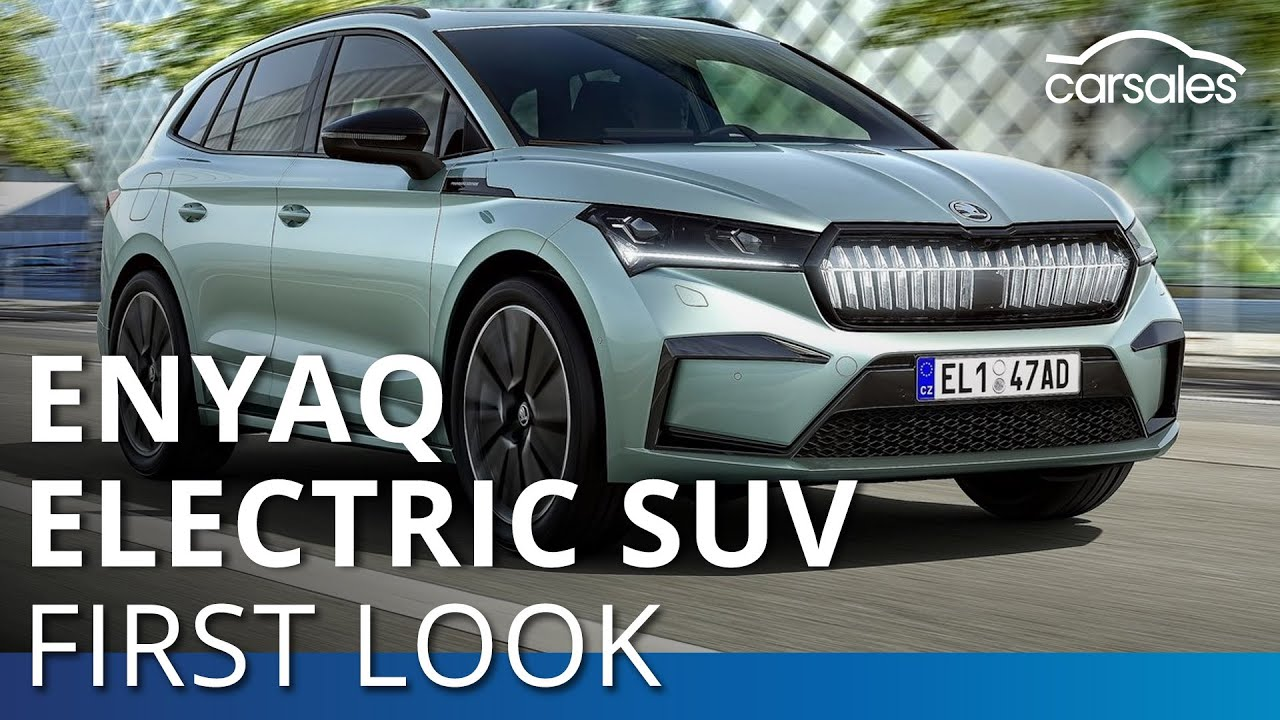 Coming Soon 2021 Skoda Enyaq Electric Suv Carsales Com Au Youtube