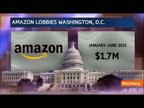 Amazon's Millions Lobby to Win Washington