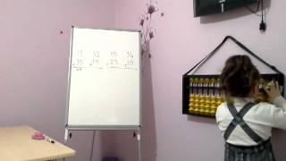 Abamer Biga Mental Aritmetik Merkezi 1. sınıf Zeynep Zülal Özeren