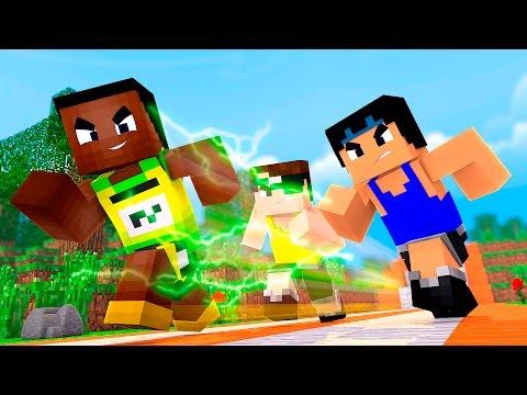 Minecraft: O HOMEM MAIS RÁPIDO DO MUNDO! (Pac e Mike nas Olimpíadas)