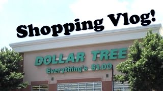 Dollar Tree Shopping Trip! | VLOG