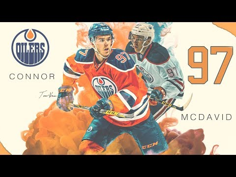 Connor McDavid 2017/18 - Genius Skills & Goals