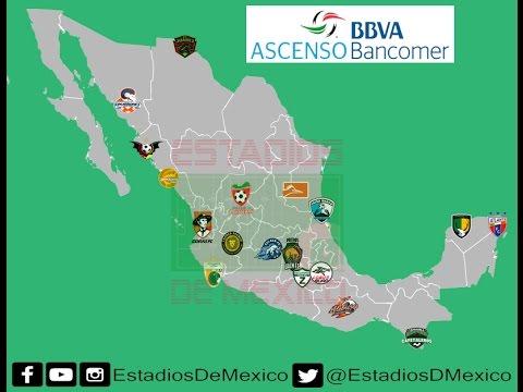 Liga de Ascenso 2016-17 | Estadios de México