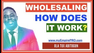 HOW DOES WHOLESALING HOUSES WORK❓