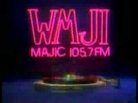 WMJI-FM Cleveland record stacker spot