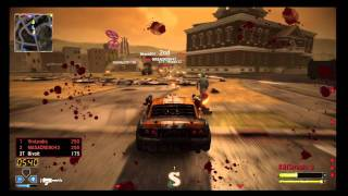 Twisted Metal - Gameplay Multiplayer - DeathMatch