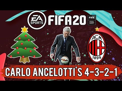 Christmas Tree Formation 4 3 2 1 Explained Football Tactics Youtube