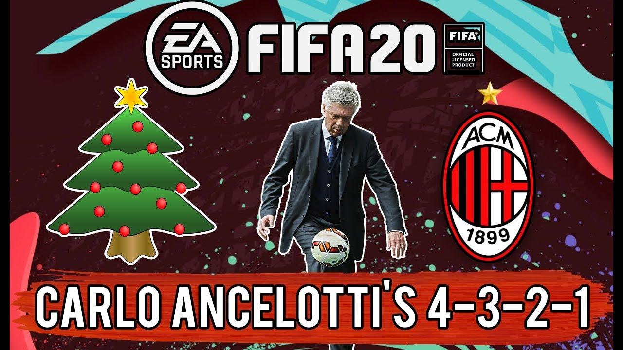 Fifa 20 Realistic Ac Milan Rebuild Career Mode Episode 16 Carlo Ancelotti S 4 3 2 1 Youtube