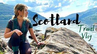 Scotland Travel Vlog | Edinburgh, Loch Lomond, Oban, Cairnryan, Stirling Castle