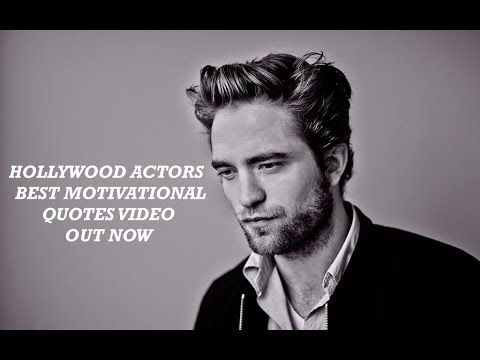 BEST Hollywood Actors Motivational quotes   YouTube