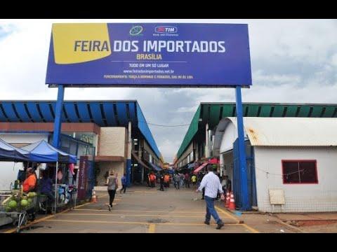 Visitando a feira dos importados em Brasília.- DF