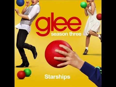 Glee Cast - Starships (karaoke version)