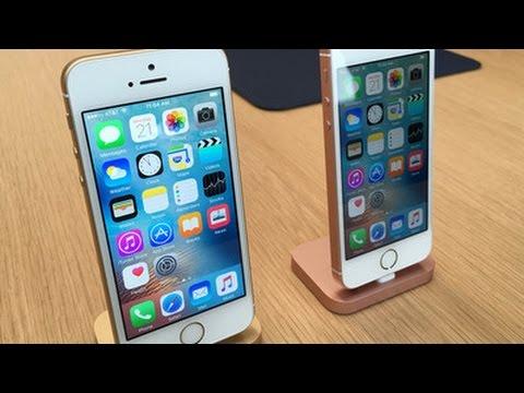 iphone se vs iphone 5s apple