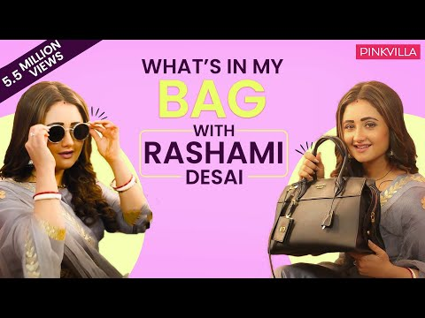 What's in my bag with Rashami Desai | S02E10 | Fashion | Pin