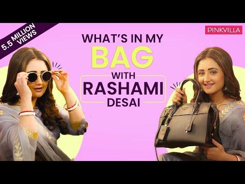 What's in my bag with Rashami Desai  S02E10  Fashion  Pinkvilla  Bollywood