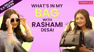 What's in my bag with Rashami Desai | S02E10 | Fashion | Pinkvilla | Bollywood