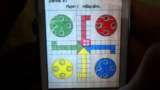 Ludo Parchis Classic Woodboard Review on Samsung Galaxy Y