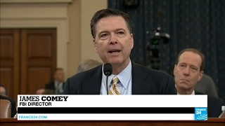 US - James Comey confirms investigating links between Trump campaign and Russia