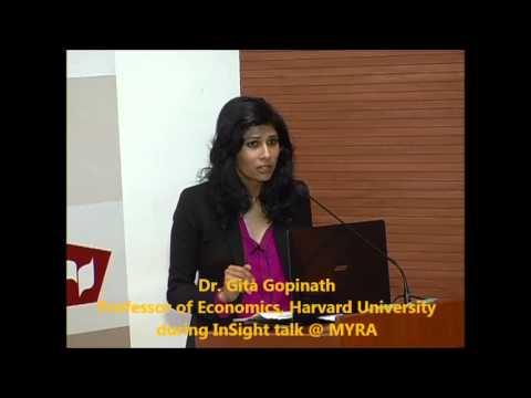 Dr.Gita Gopinath, Harvard @ MYRA
