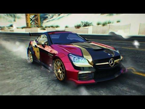 Asphalt 8 ds 3 racing iceland 1 shortcut doovi for Mercedes benz slk 55 amg special edition