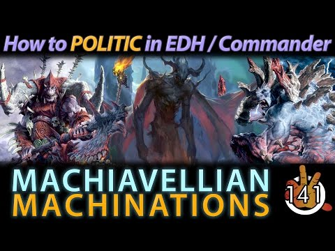 Machiavellian Machinations | The Command Zone #141 | Magic: the Gathering Commander/EDH Podcast