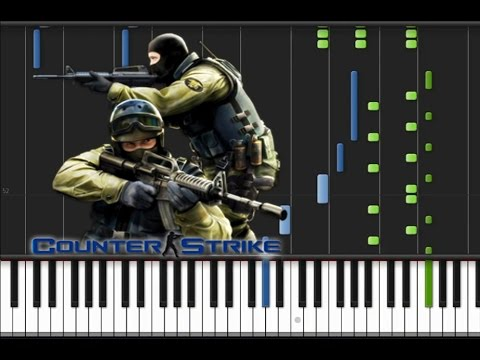Counter Strike 1.6 - Main Theme [Piano Tutorial] (♫)
