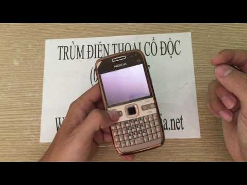 Điện thoại Nokia E72 gold kết nối wifi 3 giây