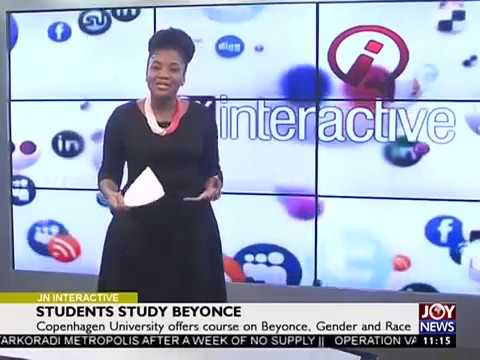 Students Study Beyonce - Joy News Interactive (6-9-17)