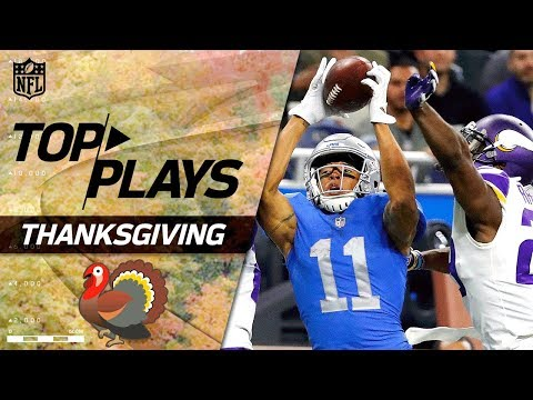 Top Plays From Thanksgiving Day! | NFL Week 12 Highlights