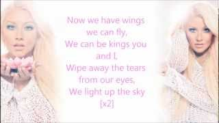 Christina Aguilera - Light Up The Sky (Lyrics)