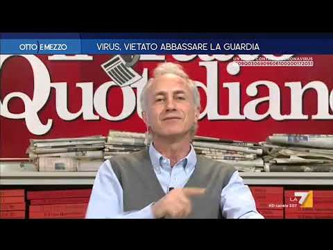 """Coronavirus, Marco Travaglio: """"La situazione è esplosiva, qualcuno sta gettando benzina sul fuoco"""""""