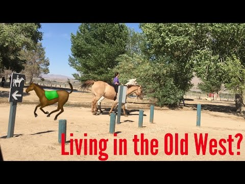 Living in the Old West? Vlog Day 519 (June 3rd, 2015)