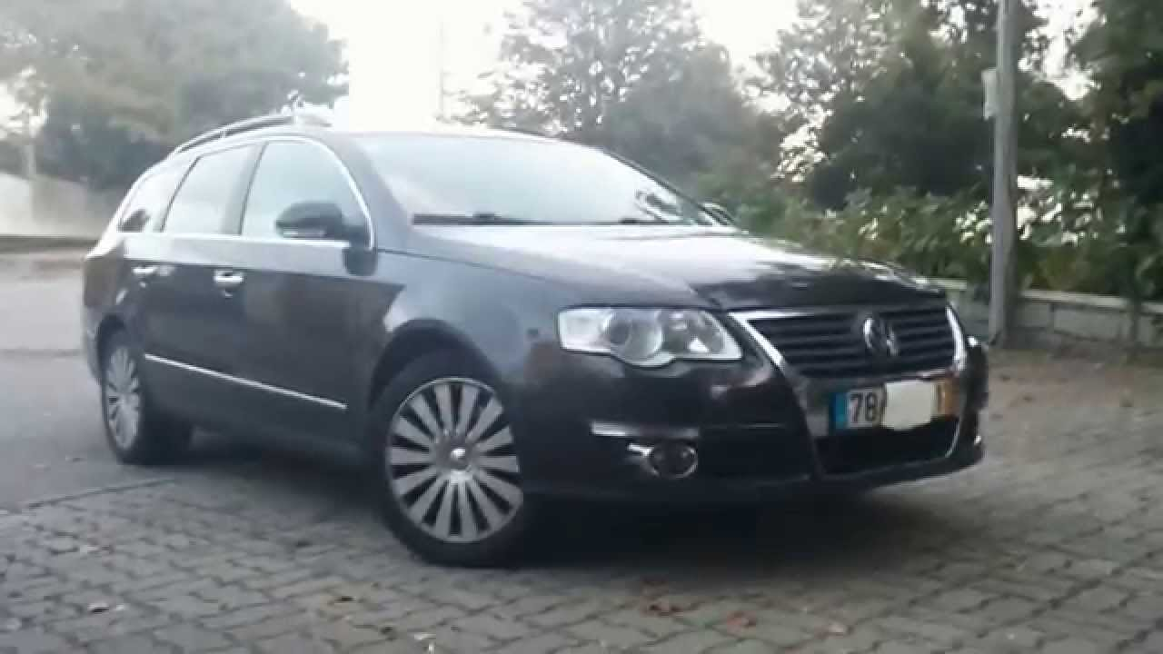 vw passat 2 0 tdi variant model b6 youtube. Black Bedroom Furniture Sets. Home Design Ideas