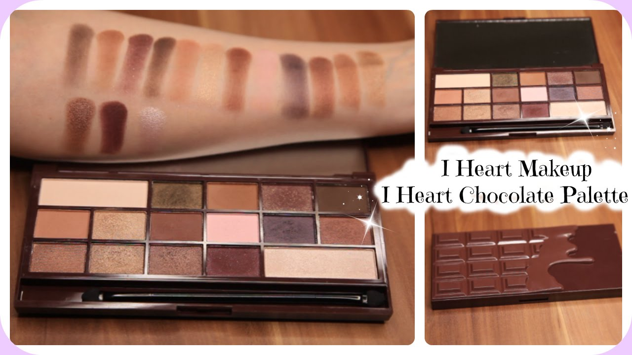 Rose Gold Chocolate Bar Eyeshadow Palette by Revolution Beauty #15