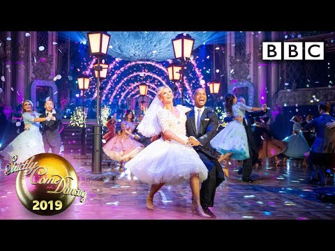Strictly Pros' spectacular moon - themed routine - Blackpool Results | BBC Strictly 2019