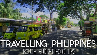 TRAVELING PHILIPPINES - Route / Budget / Food / Tips