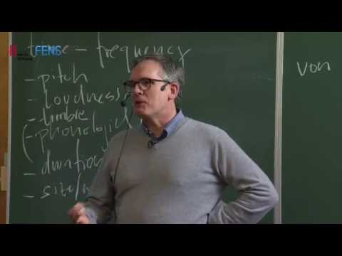 FENS Hertie Winter School 2015: David Poeppel on Neuronal oscillations and language processing