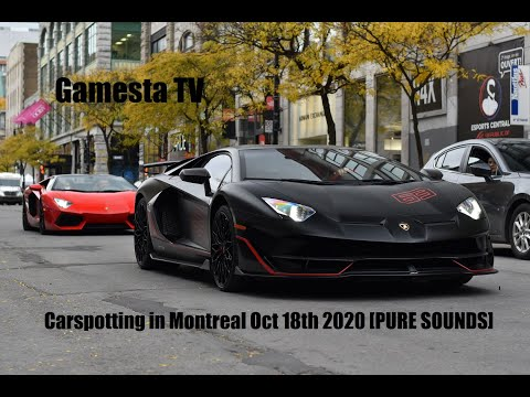 The Supercars of Montreal 2020 Vol.34 [PURE SOUNDS]