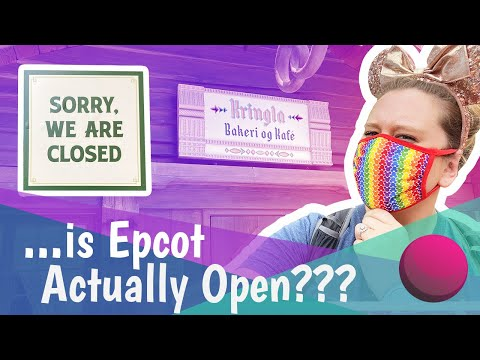 Is EPCOT Open?! | Empty World Showcase, No Future World And Trip Planning Tips For EPCOT.