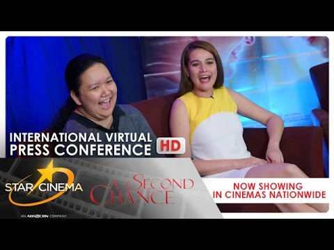 'A Second Chance' |  International Virtual Press Conference | Bea Alonzo | Vanessa Valdez