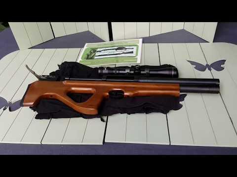 GSG-P15 Bullpup PressLuftGewehr im 12 Meter PräzisonsTest by WPU