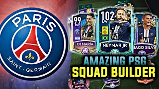 INSANE FULL PSG SQUAD BUILDER | EXPENSIVE SQUAD | FIFA MOBILE 20