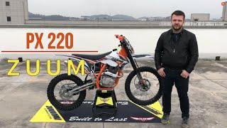 Обзор мотоцикла ZUUM PX220, lite enduro, для невысоких