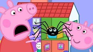 Peppa Pig in Hindi - Mister Skinnylegs - Makdi - Clips - हिंदी Kahaniya - Hindi Cartoons for Kids