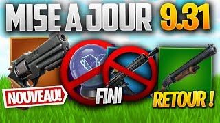 UPDATE 9.31: BEST UPDATE, RETOUR - Other on FORTNITE! (Patch Note 9.31)